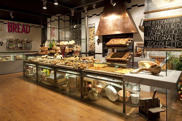 Arredamento caffetteria panetteria cerca con google for Arredamento panetteria