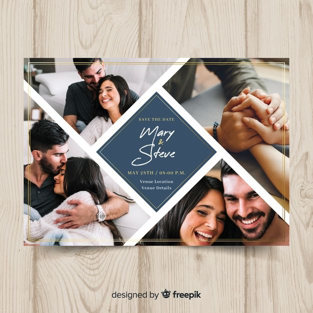 Download Wedding Invitation Card With Photo For Free Photo Album Design Photo Album Layout Wedding Album Layout