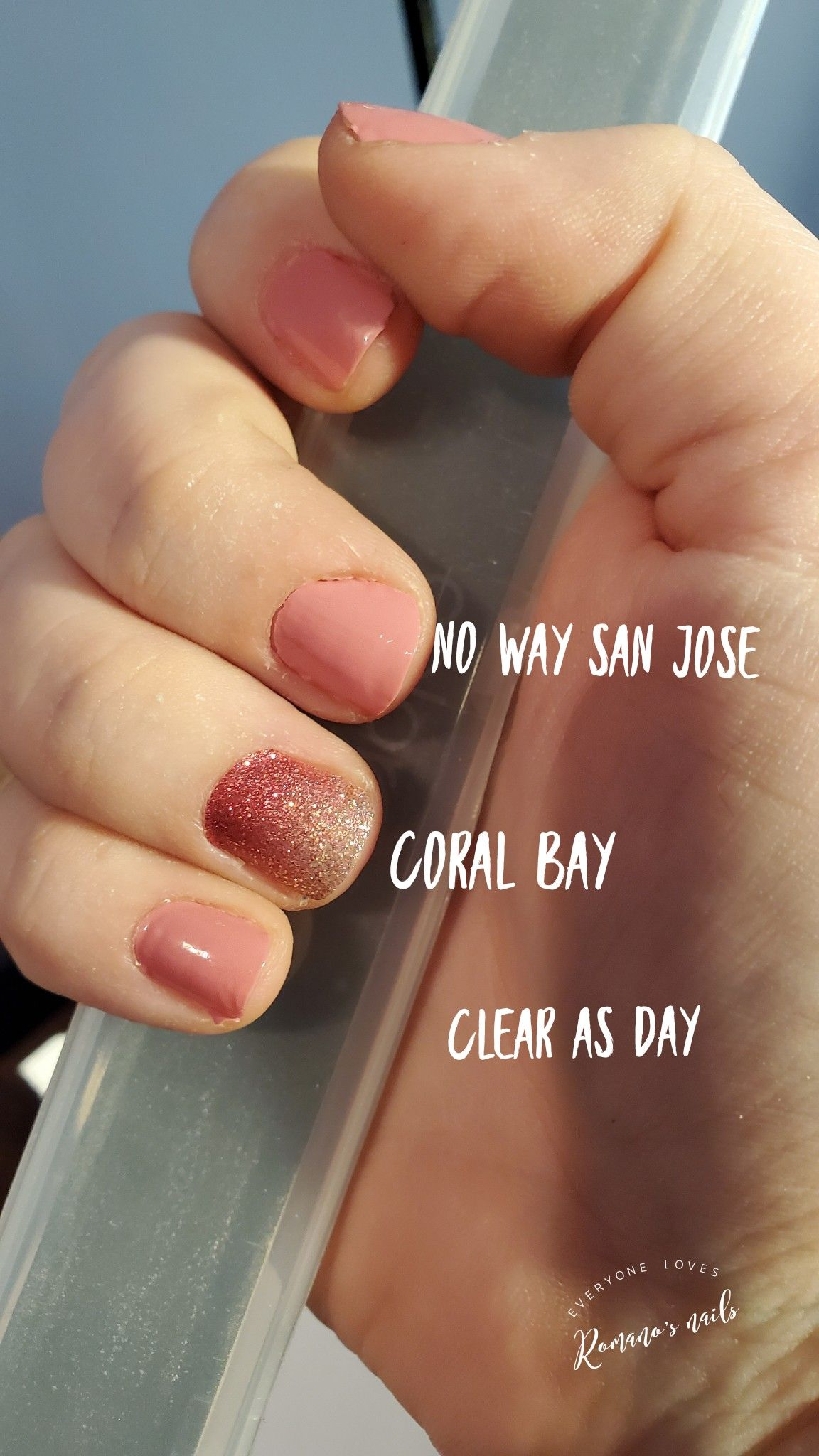 No Way San Jose and Coral Bay Accent with Clear as Day
