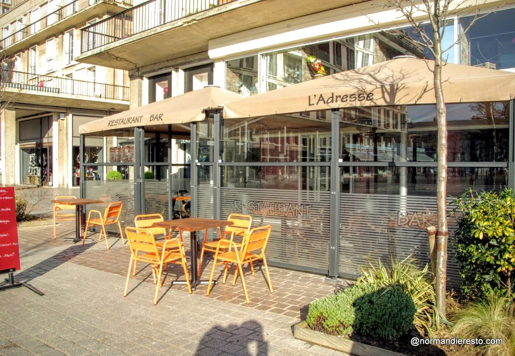 l 39 adresse bar et restaurant le havre restaurants cuisine and bar. Black Bedroom Furniture Sets. Home Design Ideas