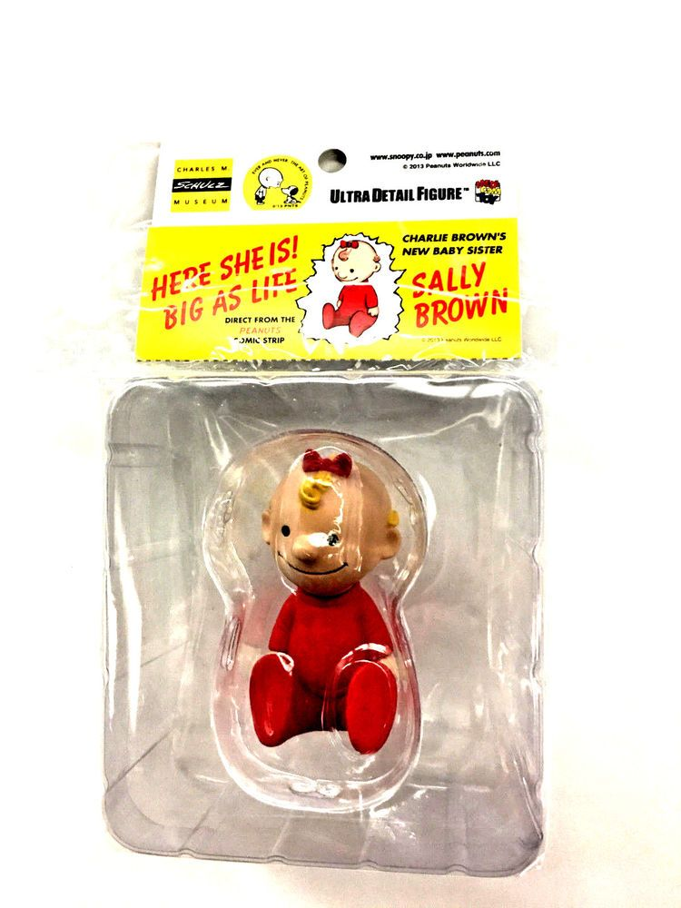 Medicom Snoopy Peanuts Sally Brown Hungerford Figure Toy 2013