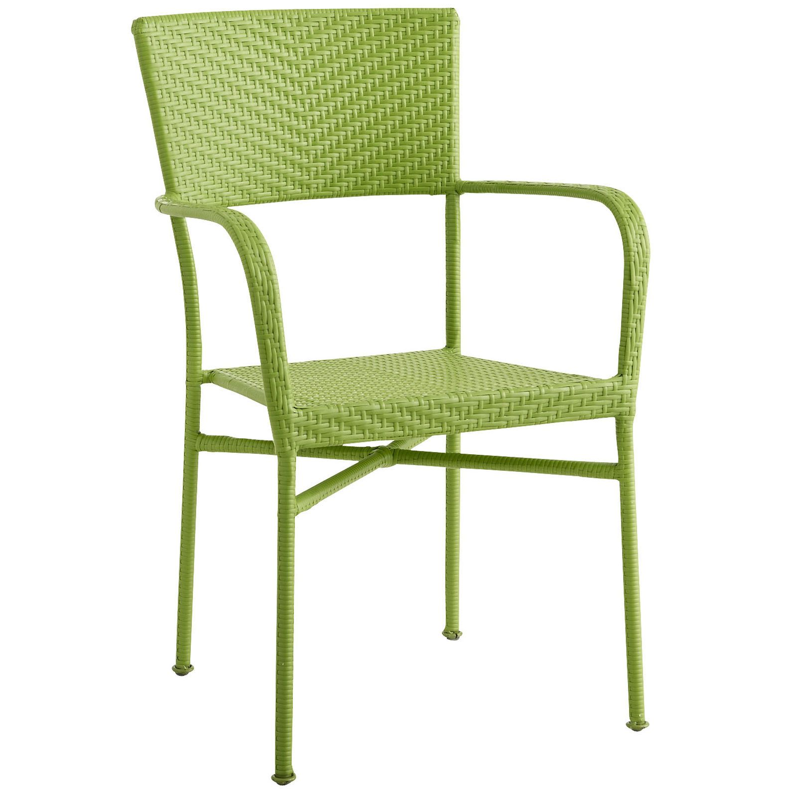 Del Rey Stacking Chair Outdoor Dining Chair Cushions Blue