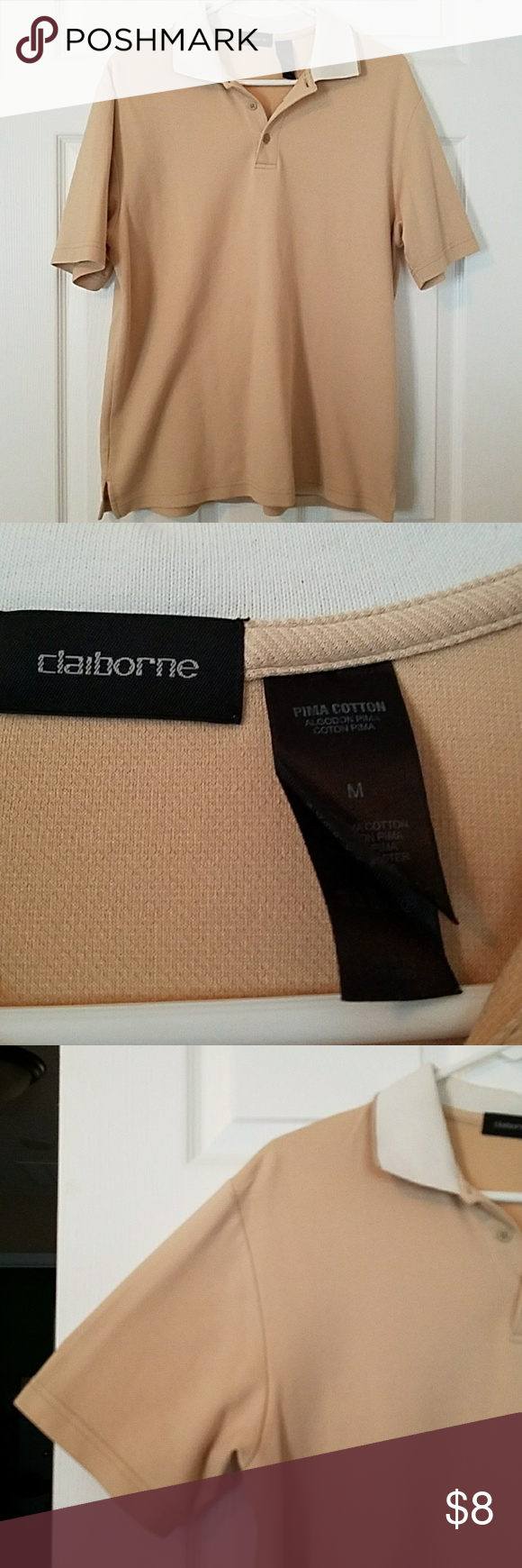 Claiborne Short Sleeved Shirt Claiborne Short Sleeved Shirt.  Size Medium Claiborne Shirts