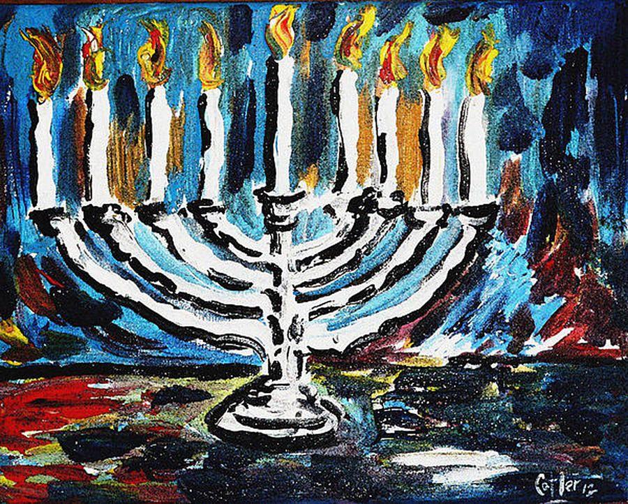 14+ Hanukkah art ideas