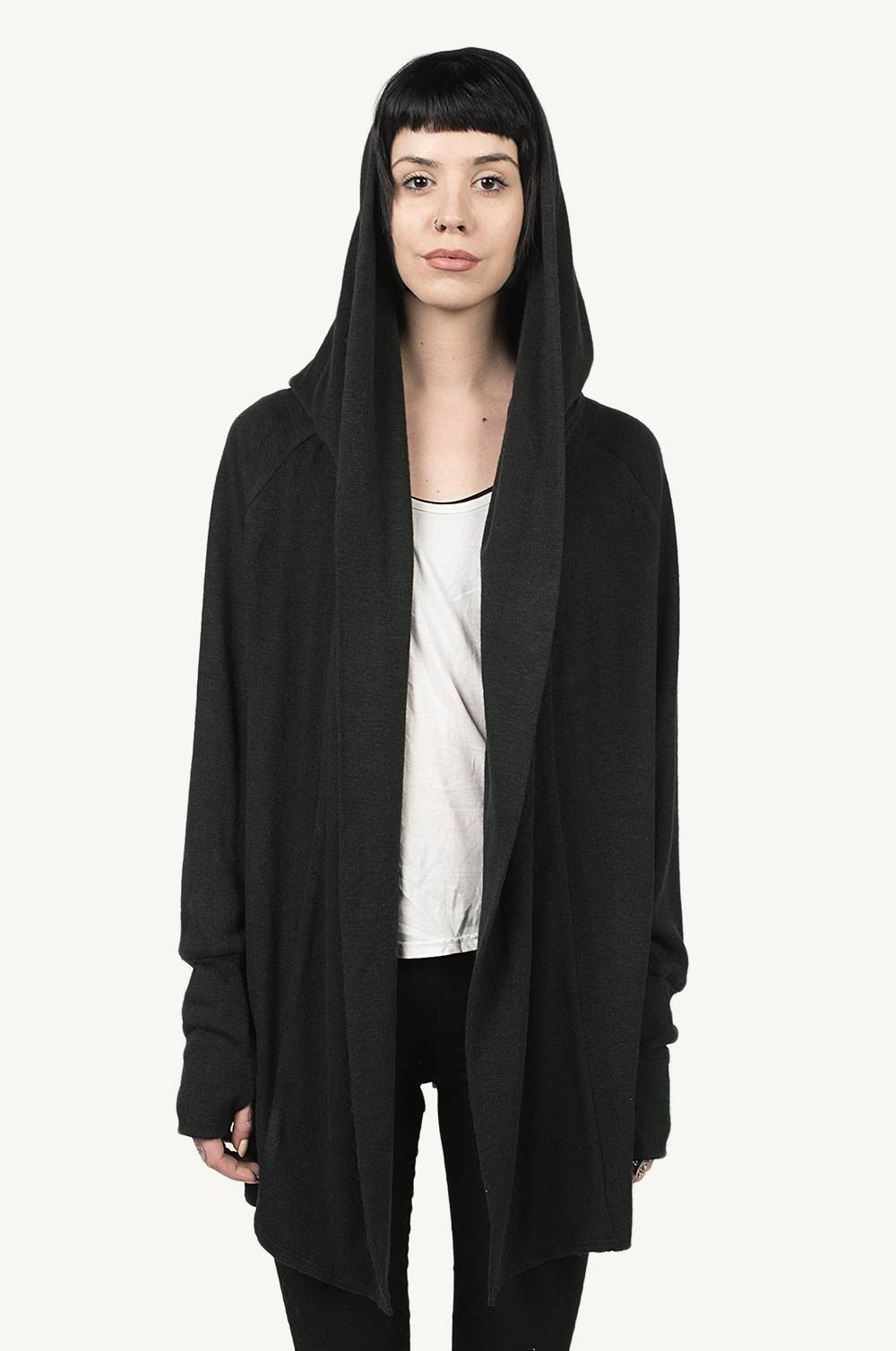 RUGAM WOOL HOODED CARDIGAN | MINOAR / WOMAN | Pinterest | Hooded ...