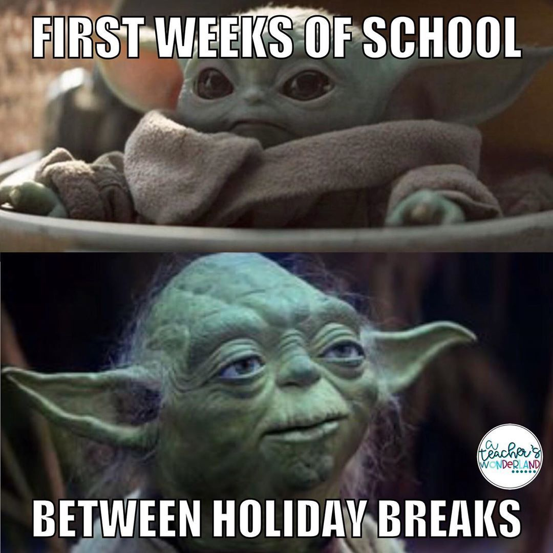 Ronnie Eyre On Instagram Ain T This The Truth I Do Love Me Some Baby Yoda Though Teachersfollowteachers Teachersof Yoda Meme Teacher Memes Yoda