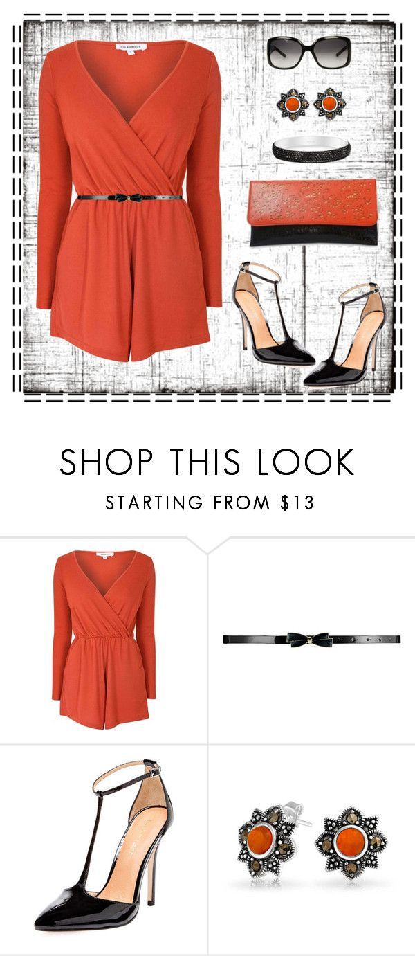 romper by gallant81 on Polyvore featuring Glamorous, Maiden Lane, Bling Jewelry and Gucci