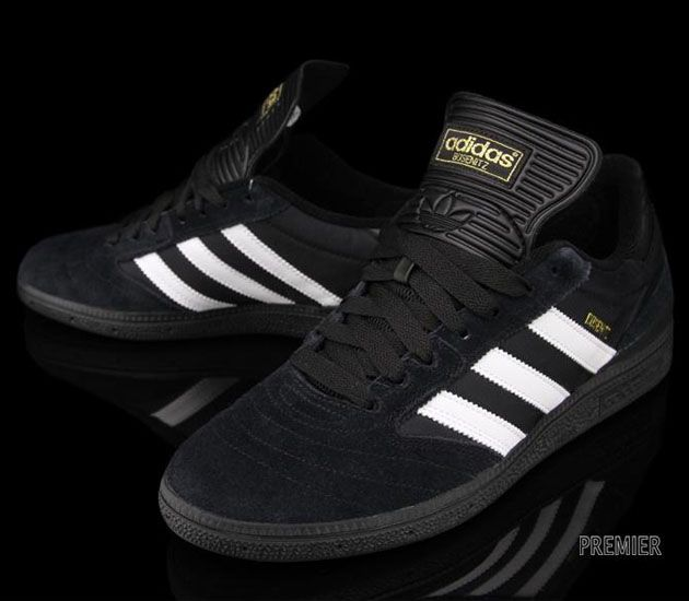 adidas Skateboarding Busenitz - Black / Running White - Black