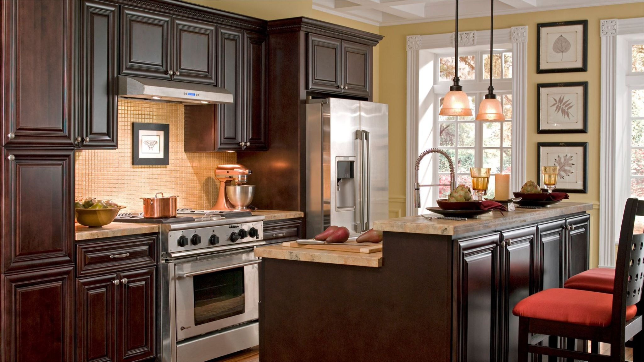 Cabinet Sample Palm Beach Dark Chocolate In 2020 Cabinets To Go Luxury Kitchen Cabinets Kitchen Cabinets