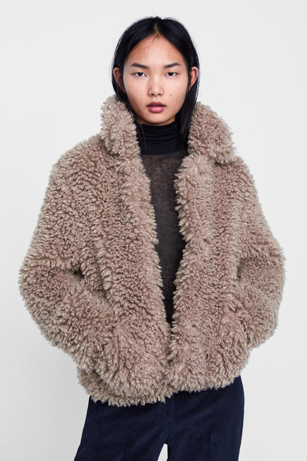 Image 2 of SOFT FAUX FUR JACKET from Zara  15f249b7bc978