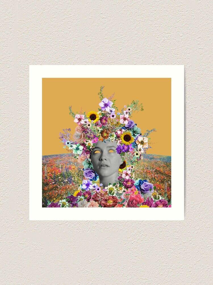 Midsommar May Queen Art Print By Reveriexv In 2021 Art Art Prints Queen Art