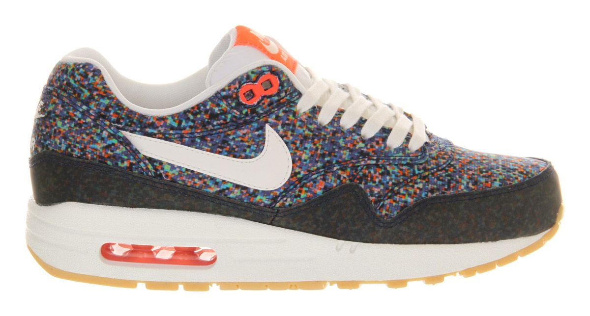 new concept bc1ed 55364 Nike Air Max 1 (l) Hyper Blue Yellow Liberty - Hers trainers