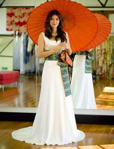 Anese Style Wedding Dresses 1
