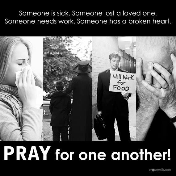 pray for oneanother