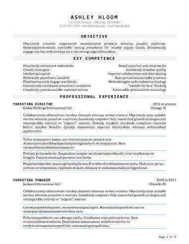 Traditional Resume Template Seasoned  Career Search  Pinterest  Career Search Template And