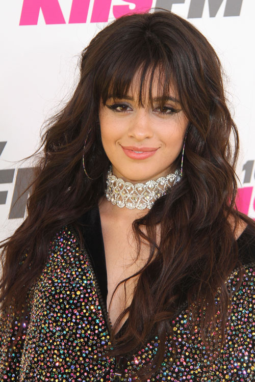 Camila Cabello S Hairstyles Hair Colors Steal Her Style Side Bangs Hairstyles Hair Styles Hairstyles With Bangs
