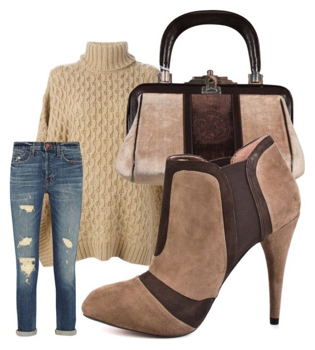 """""""Camel"""" by ultramoda ❤ liked on Polyvore featuring MICHAEL Michael Kors, Roberta Di Camerino, BCBGeneration, J Brand, casual, urban, brown and canle"""