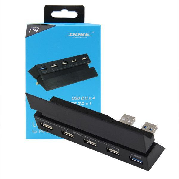 PS4 USB Hub 5 Port USB 3.0 2.0 High Speed Expansion Hub Charger Controller Adapter Connector
