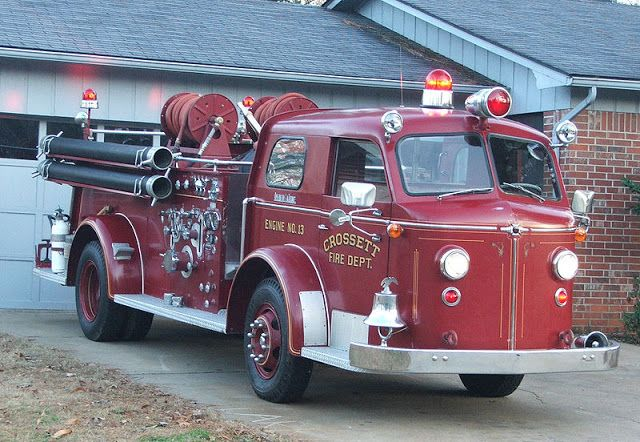 This 1954 American Lafrance Type 700 Fire Engine Formerly