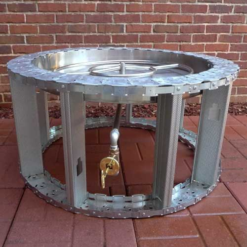 Ft 42 Manual Fire Pit Frame Fire Pit Furniture Fire Pit Frame Outdoor Fire Pit