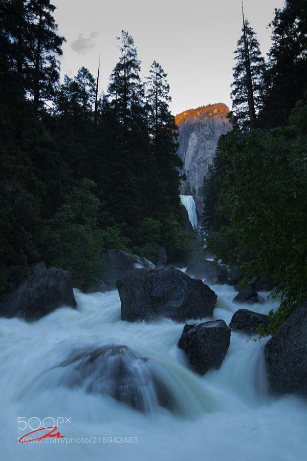 Vernal Fall -  In Yosemite National Park