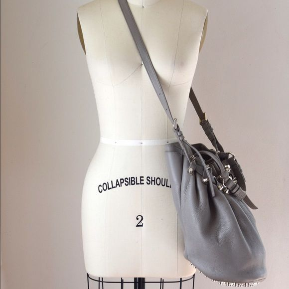 Alexander Go Bucket Bag In Oyster Gray Lightly Used