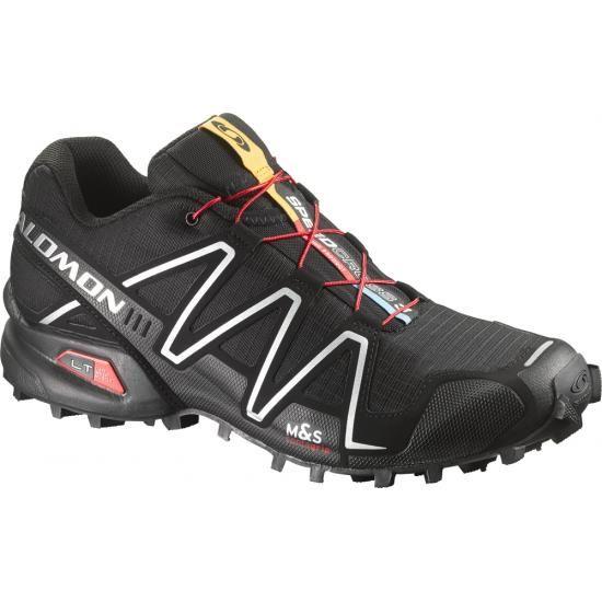 New color arrival! Men's Salomon Speedcross 3 shown in Black