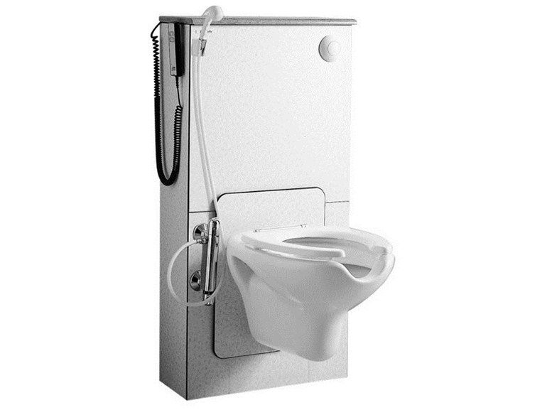 Height Adjustable Close Coupled Toilet For Disabled 300