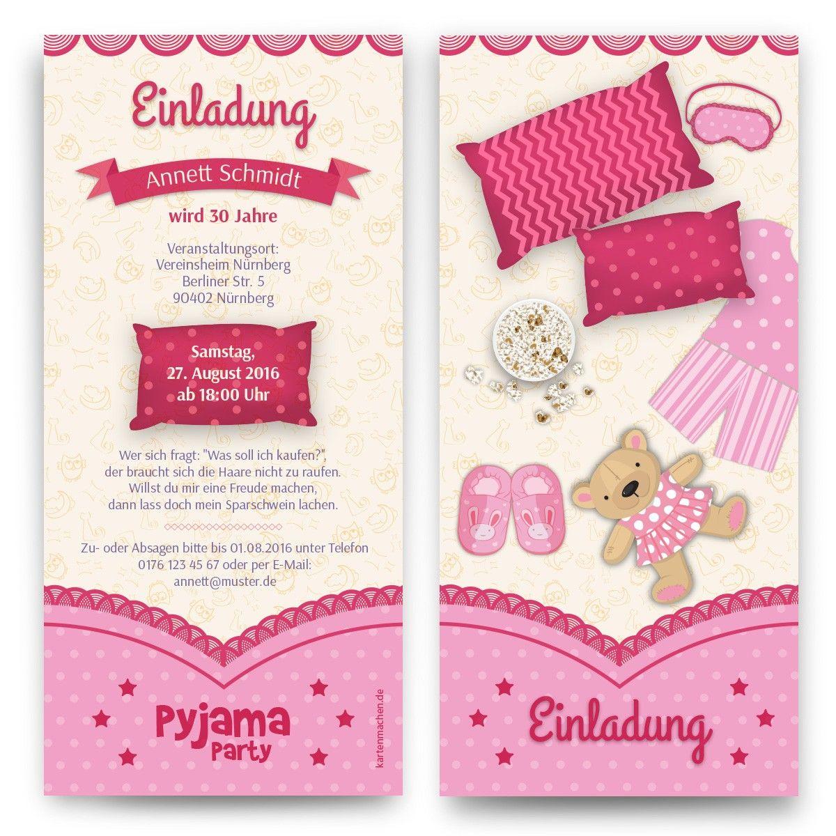 Einladungen Pyjama Party Geburtstag Einladung Geburtstagseinladung Pyjama Einladung Kindergeburtstag Einladung Geburtstag Einladung Kindergeburtstag Text