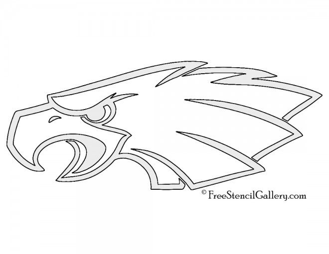 Philadelphia Eagles Printable Pumpkin Carving Stencils | holiday ...