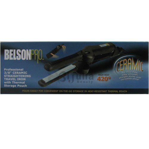 2749 2999 Belson Pro Ceramic Travel 38 Flat Iron Belson