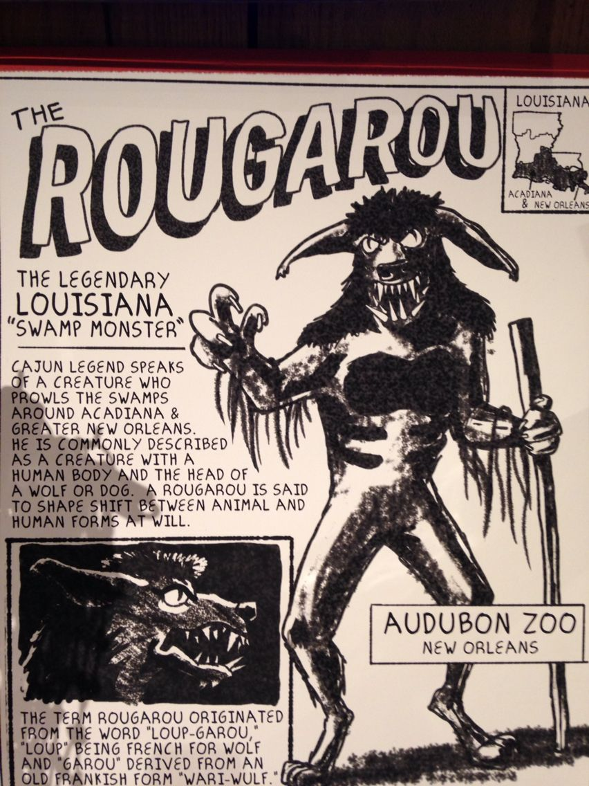 The rougarou | Lagniappe in 2019 | Louisiana swamp, Louisiana, New