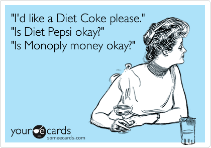 Diet Coke vs. Pepsi
