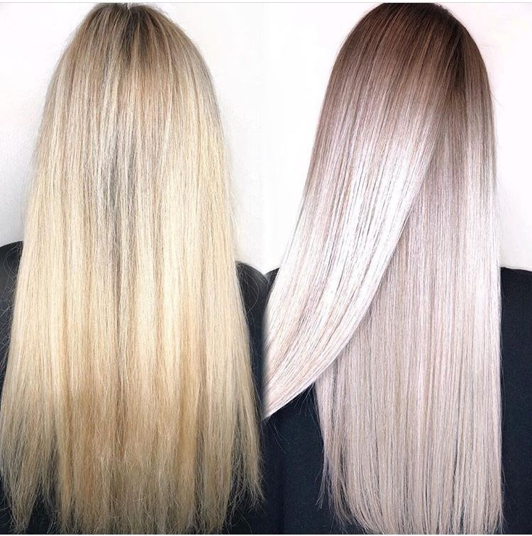 Pin By Prisse Rj Ou Agora Addict On Ombre Hair Grey Blonde Hair