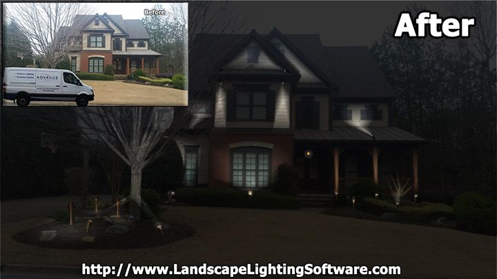Advance outdoor living designs with landscape lighting software