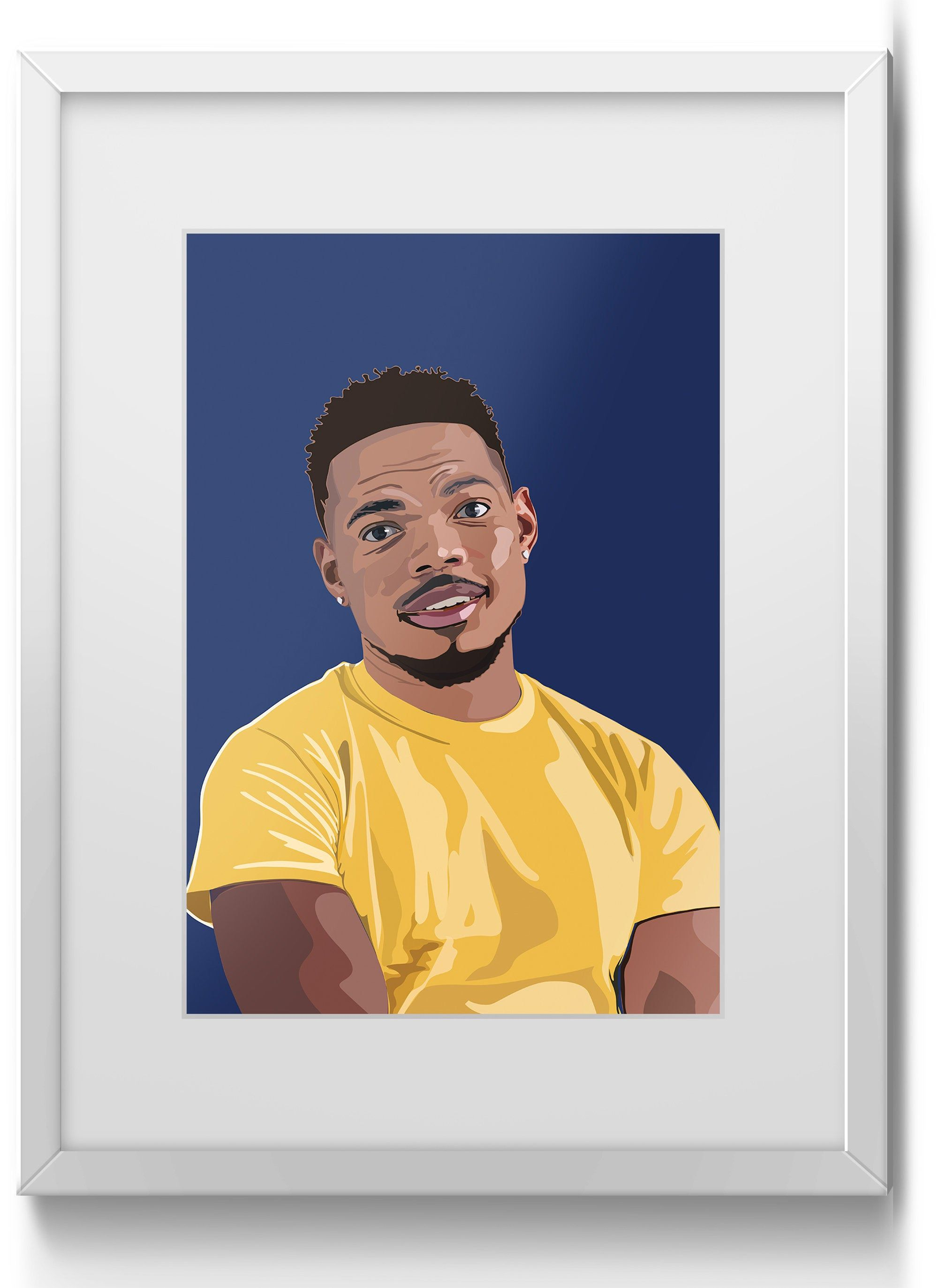 Chance the Rapper American rapper singer songwriter A2 A3 ...
