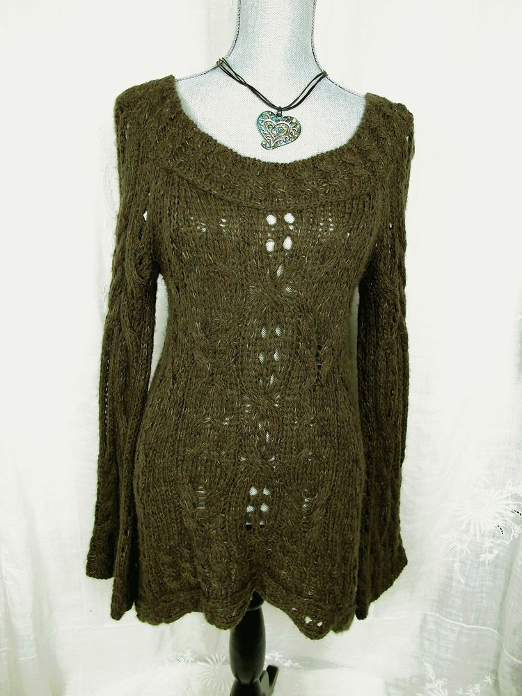 Free People Anthropologie Sweater Dress M Brown Hi Low Boho Pullover Swing Top #FreePeople #PulloverSweaterDress#sweaters#freepeoplefrosale#freepeoplestyle#everyday#casual#style#boho#fashion#trend#backtoschool#summer#sale#deal#anthropologieforsale#anthropologiestyle#highlow#sweater#fashion#freepeople#dressitup#style#trend#designer#socute#backtoschool#adorable#knittop#resale#summer#winter#beauty#gotohaveit#sale#deal