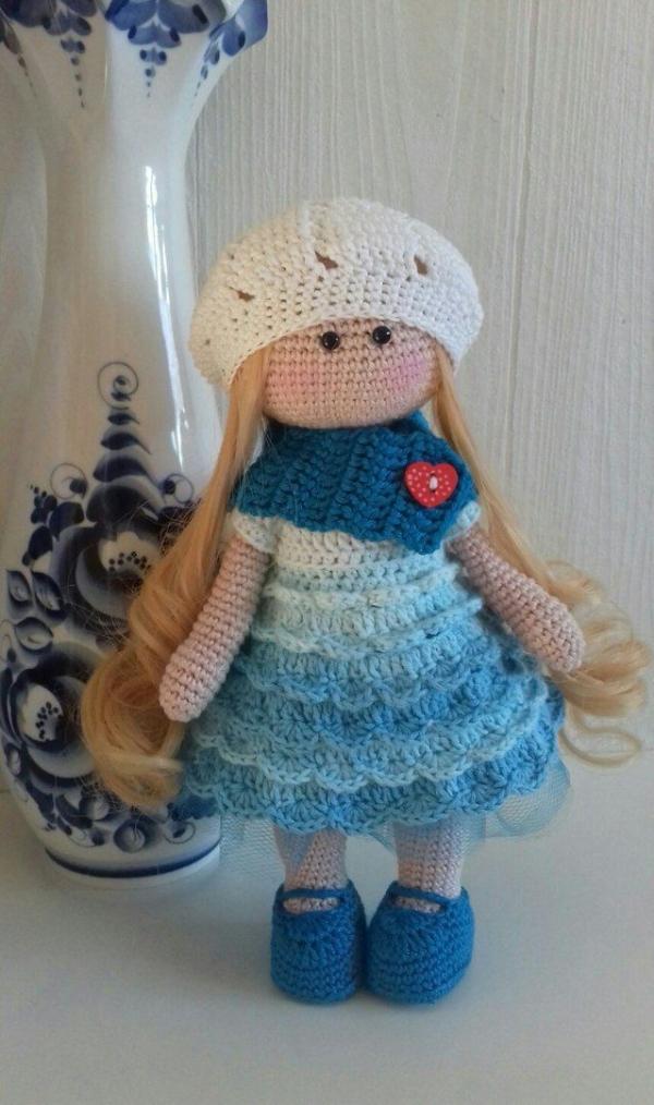 56+ Cute and Amazing Amigurumi Doll Crochet Pattern Ideas - Doris ... | 1014x600