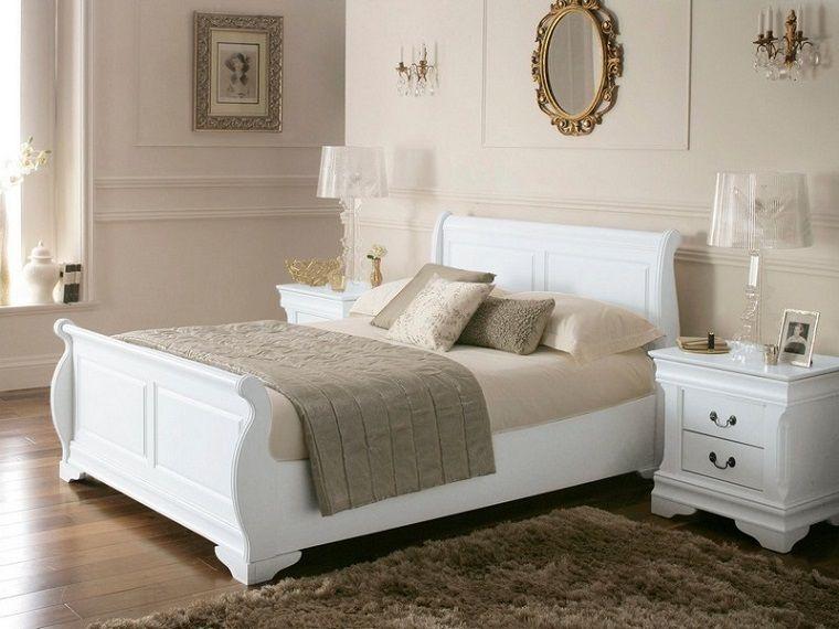 L'abbinamento del bianco con una camera da letto grigio scuro o noce scuro è sempre perfetto. Colore Pareti Camera Da Letto Mobili Bianchi