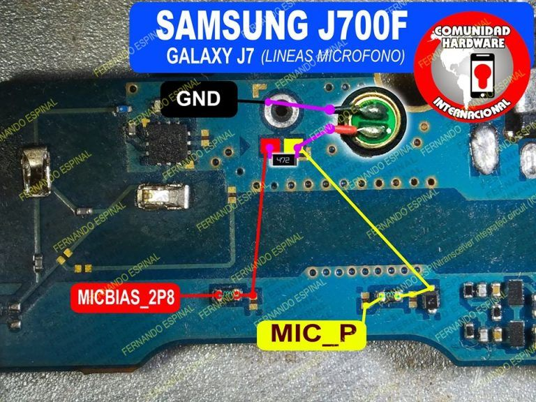 Samsung Galaxy J7 J700f Mic Problem Solution Microphone
