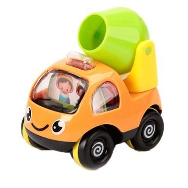 1 Pc Mini Pull-Back Car Cartoon Vehicle Toy Car Models, Agitating Lorry