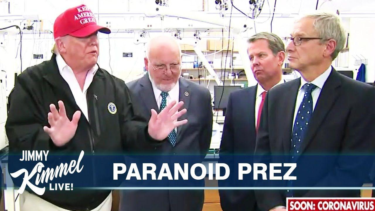 Donald Trump Terrified of Getting Coronavirus - YouTube