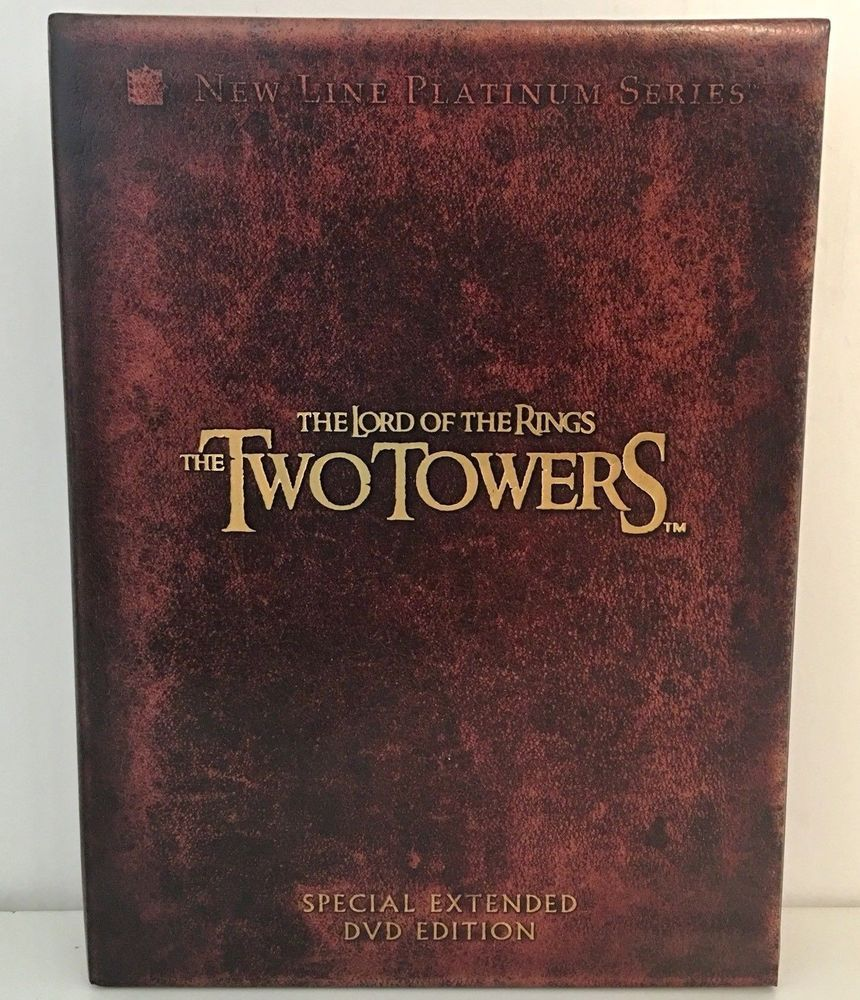 The Lord Of The Rings The Two Towers Dvd 4 Disc Set Platinum Series Edition Ebay Lord Of The Rings Lord The Two Towers