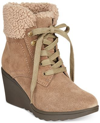White Mountain Kipper Faux-Fur Booties - Sale & Clearance - Shoes - Macy's