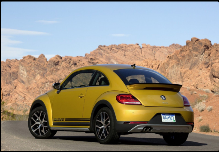 The 2018 Volkswagen Beetle Dune Offers Outstanding Style And Technology Both Inside Out See