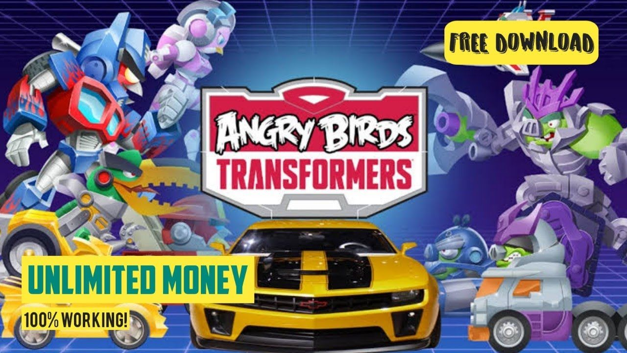 Angry birds transformers mod apk unlimited money free