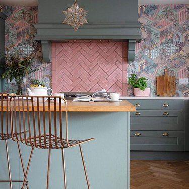 10 Herringbone Kitchen Backsplash Ideas Better Than Subway Tile