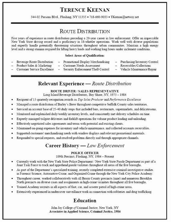truck driver resume sample new truck driver resume example