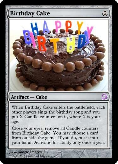 Magic The Gathering Birthday Party Invite Ask The Dusk Imp