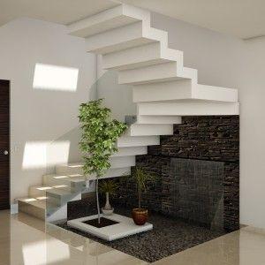 Fuente bajo escalera4 300 300 sg for Jardines pequenos bajo escaleras